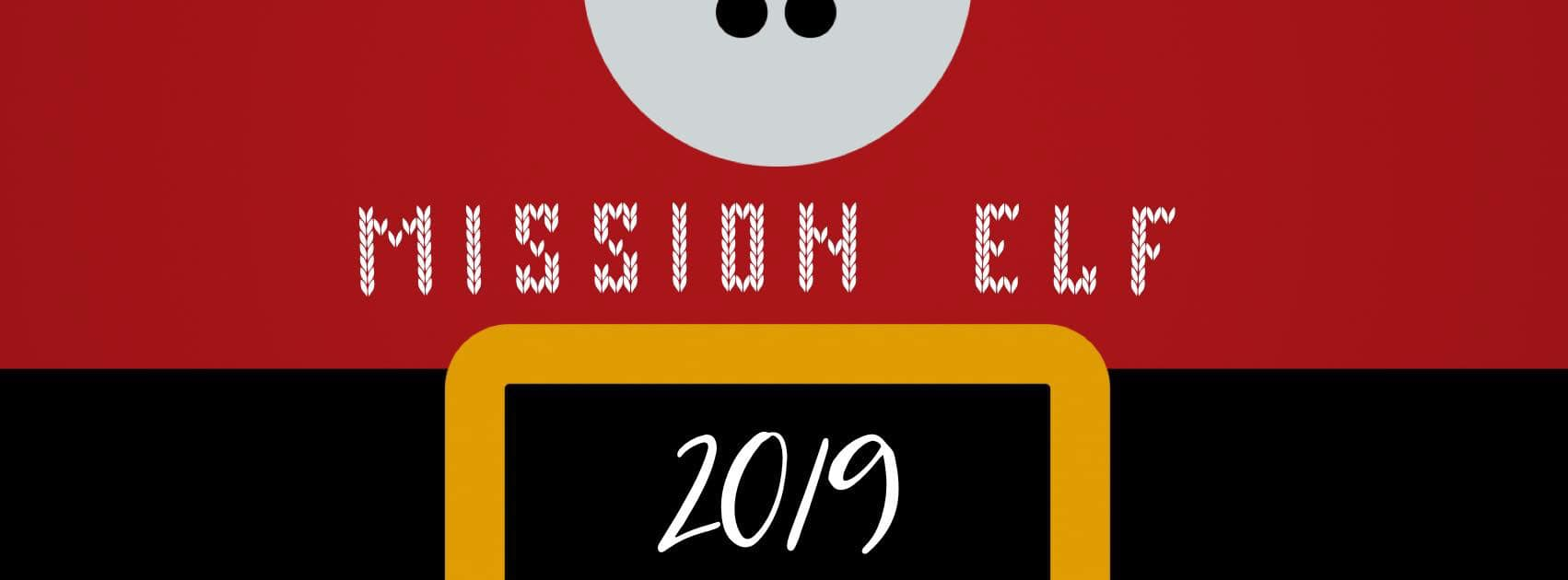 Santa Suit with Mission Elf 2019 overlay
